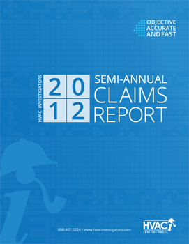 HVACi 2012 Annual Claims Report