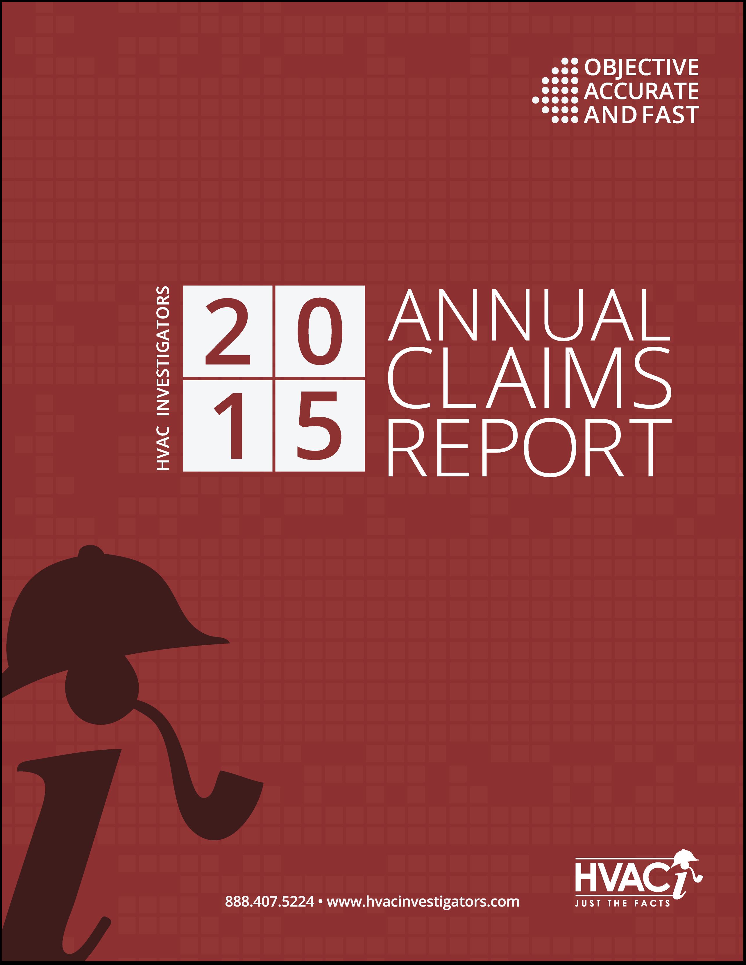 HVACi 2015 Annual Claims Report