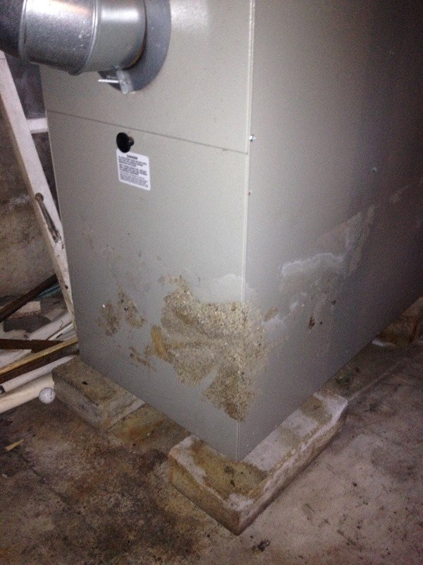 Spring Storm Claims: Water Damaged Furnace