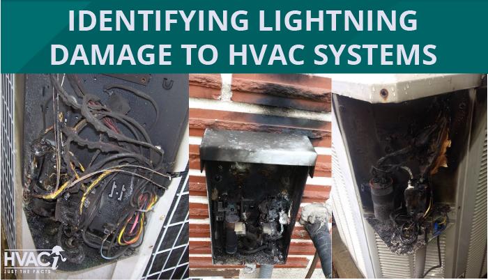 Identifying Lightning Damage to HVAC Systems