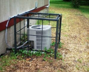 HVAC theft prevention